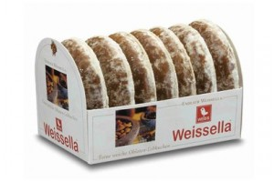 Weissella Soft Sugar-Glazed Lebkuchen (Gingerbread)